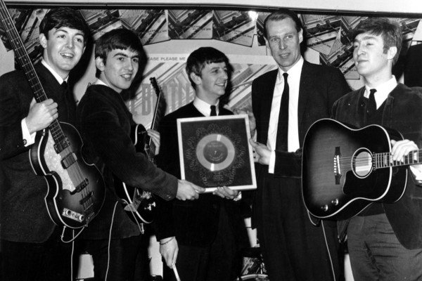 Beatles and mr. Martin